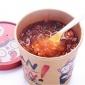 食族人网红酸辣粉130g重庆风味方便粉条粉丝即冲即食速食冲泡杯装